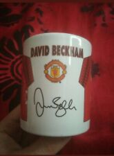 Manchester United Man Utd Mug Cup Ceramic Coffee Tea Gift Official bekham