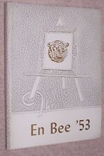 1953 North Baltimore High School Yearbook Annual N Baltimore Ohio OH - En Bee