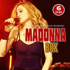Madonna BOX 6CD SET Legendary Radio Broadcast Recordings Pre-Order