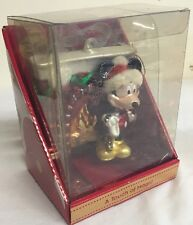 Collectible Disney Licensed Mercury Mickey Mouse Glass Christmas Ornament,682682