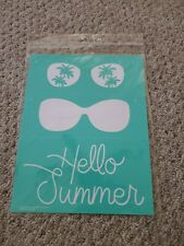 Chalk Couture Transfer Hello Summer New Transfer size B