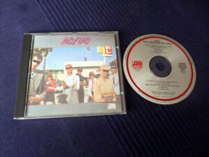 CD AC/DC Dirty Deeds Done Dirt Cheap early West-Germany WE 835 | Mould 41