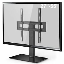 Table Top TV Stand Desktop Metal TV Bracket For up to 55 inch Flat Curved TV