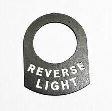REVERSE LIGHT Land Rover series Classic Race car kit car switch tag