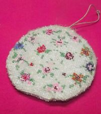 Antique Bag with Beadwork for the Doll Puppentasche