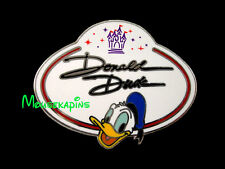 Donald Duck - Name Badge Disneyland Hk 2010 Disney Mystery Pin