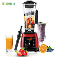 BPA Free Blender Mixer Juicer Food Processor 2200W 45000RPM Touch Screen D6300*