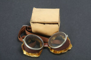 #7 Vintage 1930s-40s Harley-Davidson Goggle, NOS! for Knucklehead Panhead rider