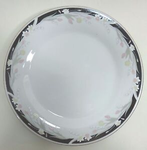 "Crown Ming Fine China Dinner Plate MICHELLE 10-1/2"" Jian Shiang"