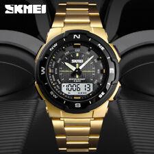 Reloj Deportivo Skmei De Acero Inoxidable Para Hombre Resistente Al Agua 1370 F