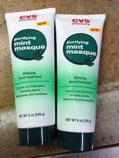 (10) Purifying Mint Masque Relaxing Facial Treatment 8 oz CVS 698467 new MASK