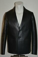 NWT BURBERRY $3295 MENS MORTLEY LEATHER JACKET SZ EU 40 US 50 MADE IN ITALY