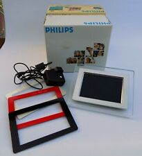 Philips Electronic Digital Photo Frame Size 7FF1M4/05 - Boxed