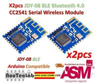 2pcs JDY-08 BLE Bluetooth 4.0 Uart Transceiver Module CC2541 Wireless iBeacon