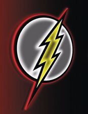FLASH LED SIGN AVAILABLE TO ONE PER STORE (FACTORY SEALED, BRAND NEW) DC COMICS