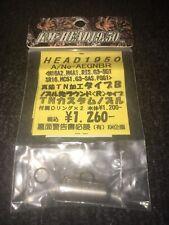 Airsoft Aeg KM Teflon Nozzle Two O-Rings Ultra Seal M4,M16,M15 & More