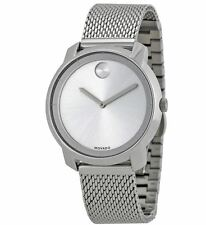 Movado Bold 3600241 Silver Dial Stainless Steel Mesh Women's Watch