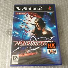 VINTAGE# PS2 PLAYSTATION NANOBREAKERS  KONAMI# PAL SEALED SIGILLATO