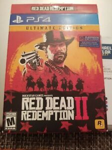 Red Dead Redemption 2: Ultimate Edition PS4 Steelbook