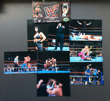 WWF Wrestlemania Live! 8 Photocards Chyna The Rock Mankind The Undertaker RARE