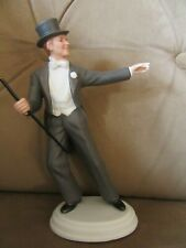 Vintage Avon Fred Astaire Porcelain Figurine,Used,In box.
