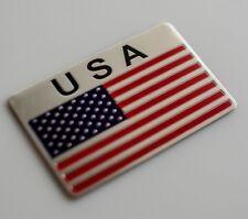 3D METAL American Flag Sticker Emblem Decal Auto, Bike, Motorcycle, Truck USA