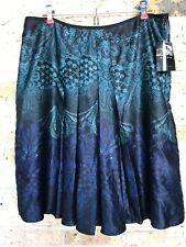 NEW Axcess Skirt Size 14 Blue Teal Turquoise  NWT