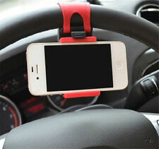 Universal Car Steering Wheel Clip Mount Holder Universal For Mobile Phone Iphone