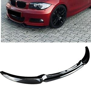 Fit For BMW 1 Series E82 E88 2007-2010 Car Front Bumper Spoiler Splitter Lip