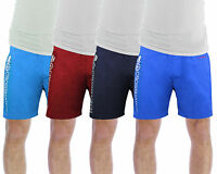 Mens Swim Shorts Crosshatch Jennis Casual Mesh Lined Summer Swimming Trunks