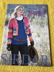 Sirdar Indie Girls Knitting Pattern Book 424 - 12 Designs