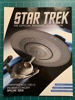 Eaglemoss Star Trek USS Enterprise 1701-C Probert Concept Issue Magazine Only