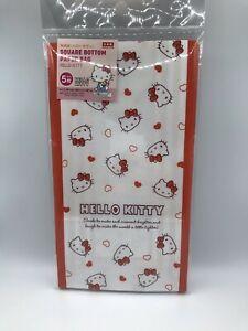 DAISO Hello Kitty  Square Bottom Paper Bag   Japan Limited SANRIO