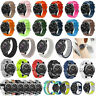 Replacement Silicone Nylon Wrist Strap Band for Samsung Gear S3 Frontier Classic