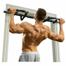 Chin-Up Pull-Up Horizontal Bar Doorway Trainer Workout Bar Adjustable for Home