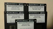KURZWEIL ~ COMPLETELY ROLAND ~ 5 Disk Set ~ K2000/K2500 w/VAST PROGRAMMINGS!!!
