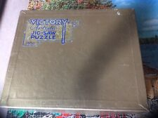 Vintage Victory Gold Box Wooden Jigsaw Puzzle.1000 Pieces