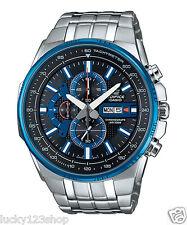 EFR-549D-1A2 Schwarz Blau Herrenuhren Casio Edifice Chronograph 100m Brand-New