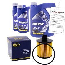 Inspektionskit MANNOL Energy 5W-30 für Bmw 7er 730d 5er 530d X5 3.0 D 3er 330d