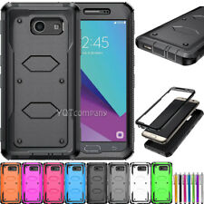 For Samsung Galaxy J3 2017/Luna Pro/Mission Shockproof Phone Silicone Case Cover