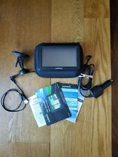 "Garmin Nuvi 50LM  5"" Automotive GPS  Bundle Case Wires Mount Manuals **Mint**"
