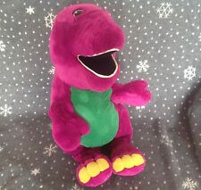 "HUGE BARNEY 25"" TALL SOFT PLUSH TOY EXCELLENT CONDITION"