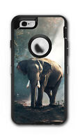 Skin Decal Wrap for OtterBox Defender Case Iphone 6/6S Elephant African Jungle