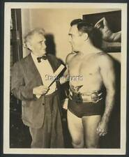 "Original Vintage Marvin ""Atomic"" Mercer Wrestling 8x10 Press Photo  World Champ"