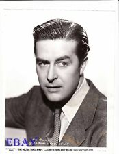 Ray Milland sexy and serious VINTAGE Photo The Doctor Takes A Wife