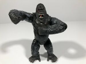 """2005 Playmates King Kong, 8th Wonder of the World  6.5"""" Movie Action Figure"""