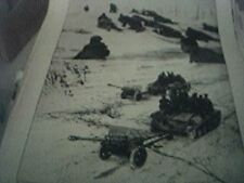 magazine picture world war two ww2 - the russian army marches on leningrad