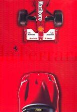 Ferrari 2001 range brochure 360 Modena Spider 456 GT GTA 550 Maranello
