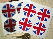 Union Jack Rueda Centro pegatinas de Gran Bretaña Reino Unido
