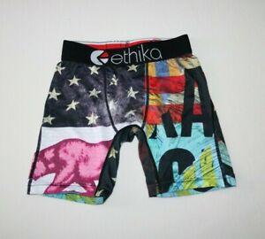Ethika Boys Underwear Boxer Size 4T (California Print)